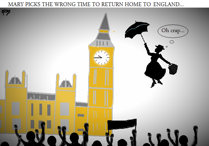 Mary Poppins picks the wrong time to return.