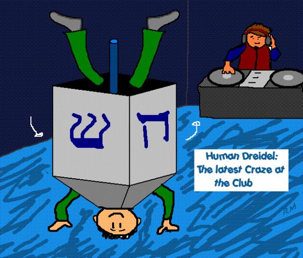 Human Dreidel