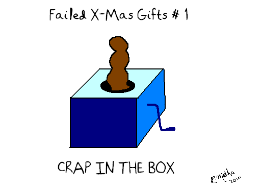 Failed X-Mas Gifts #1: Crap in the Box