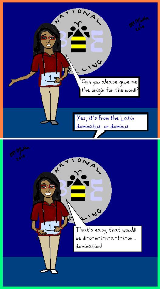 Desi Pride - Spelling Bee