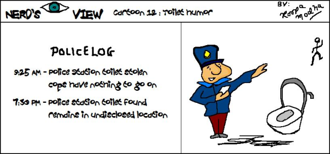 Nerd's Eye View Comic: #12 Toilet Humor