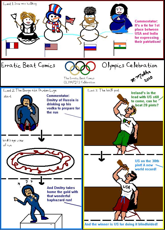 Olympics Day 1