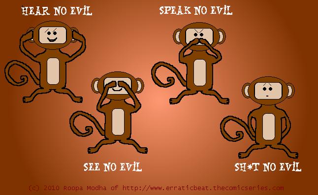 Three Monkeys + 1