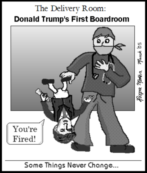 Donald Trump's First Boardroom